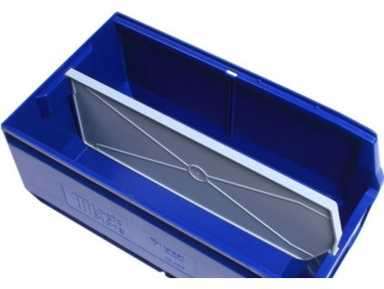 4685 podelny oddelovac pro plastovy ukladaci box 35 kh 22 5 kh 20 cm