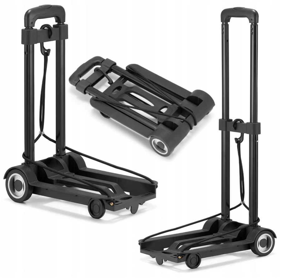 Nákupní vozík skládací 40 kg