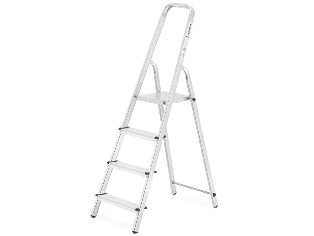 PROFI jednostranné schodíky 4 stupne, pracovná výška 2,9m