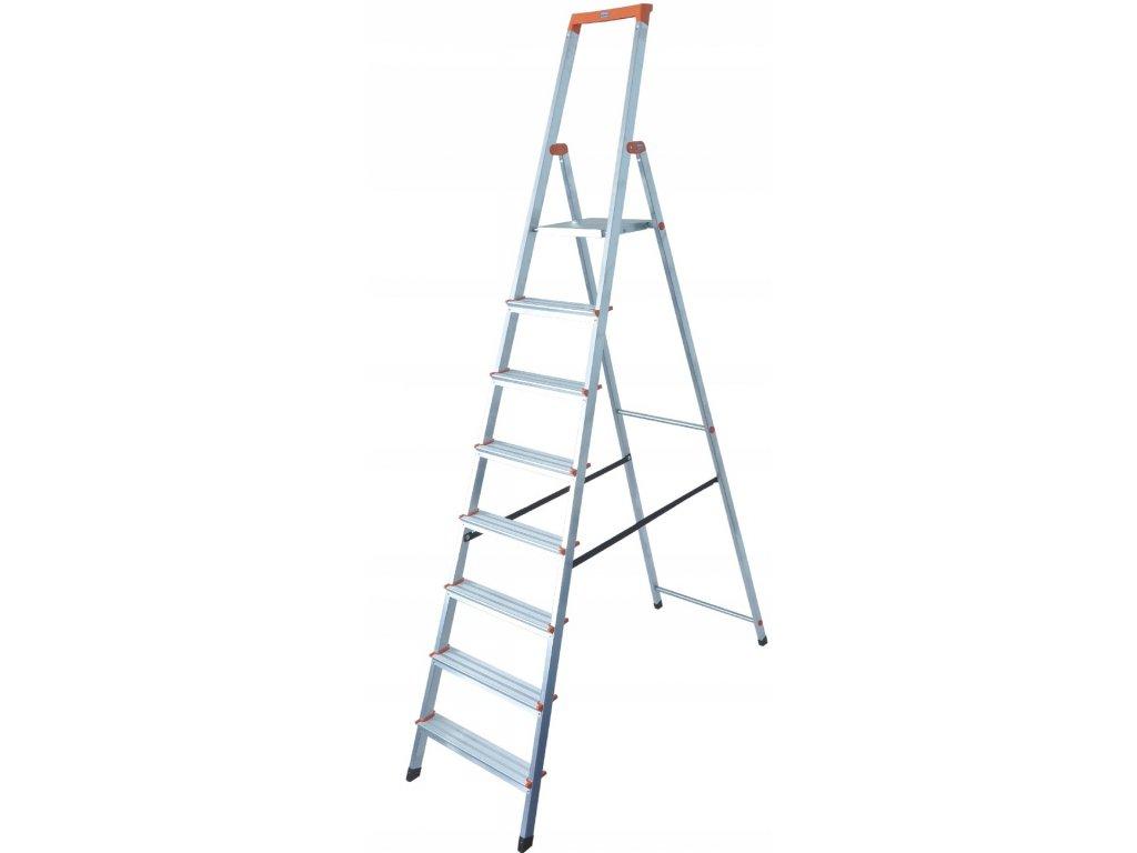 Skladací hliníkový rebrík KRAUSE 8 stupňov