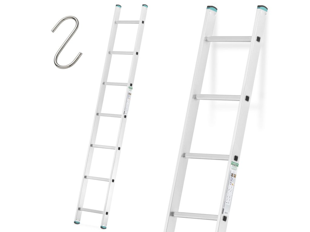 Jednodielny rebrík 1x9