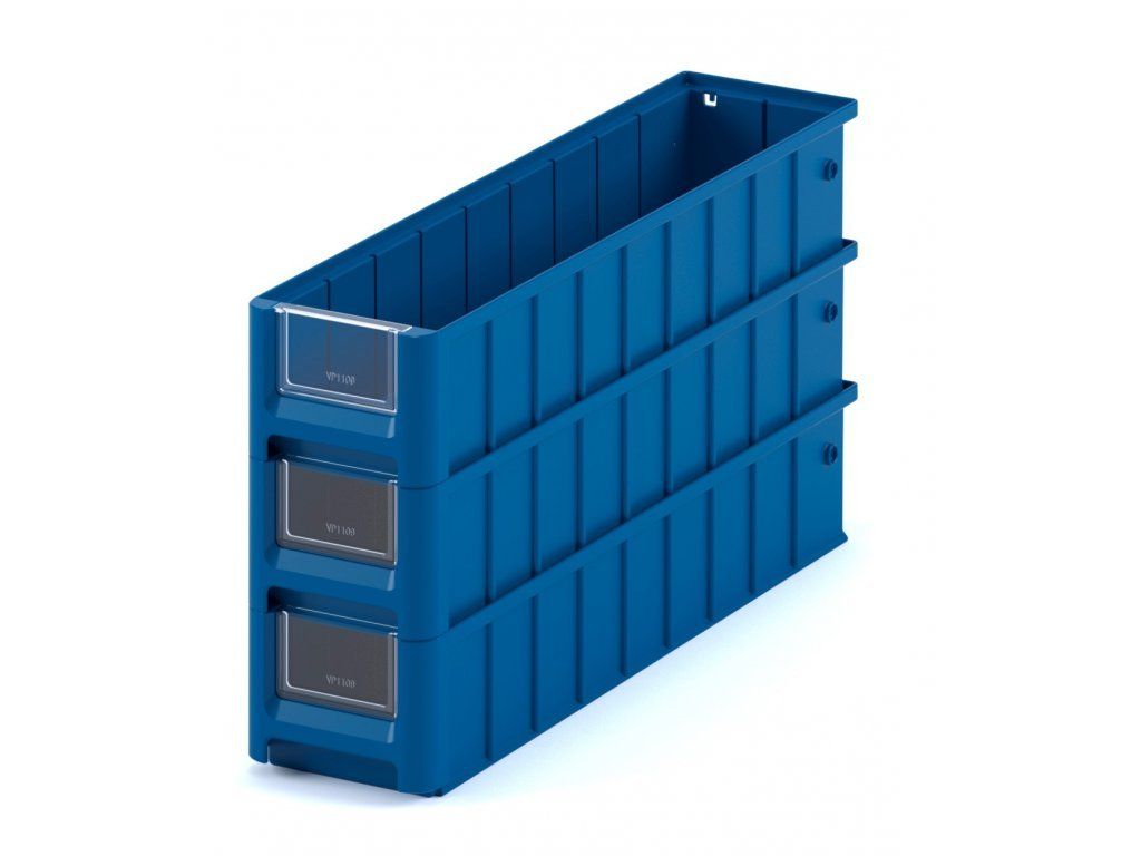 Plastový ukladací box 60 x 11,7 x 9 cm