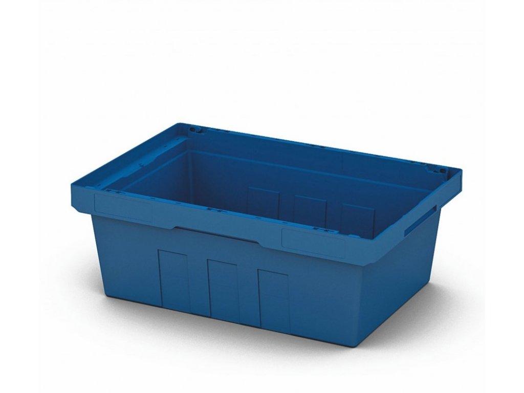 2642 1 plastovy prepravny box 60 x 40 x 22 cm