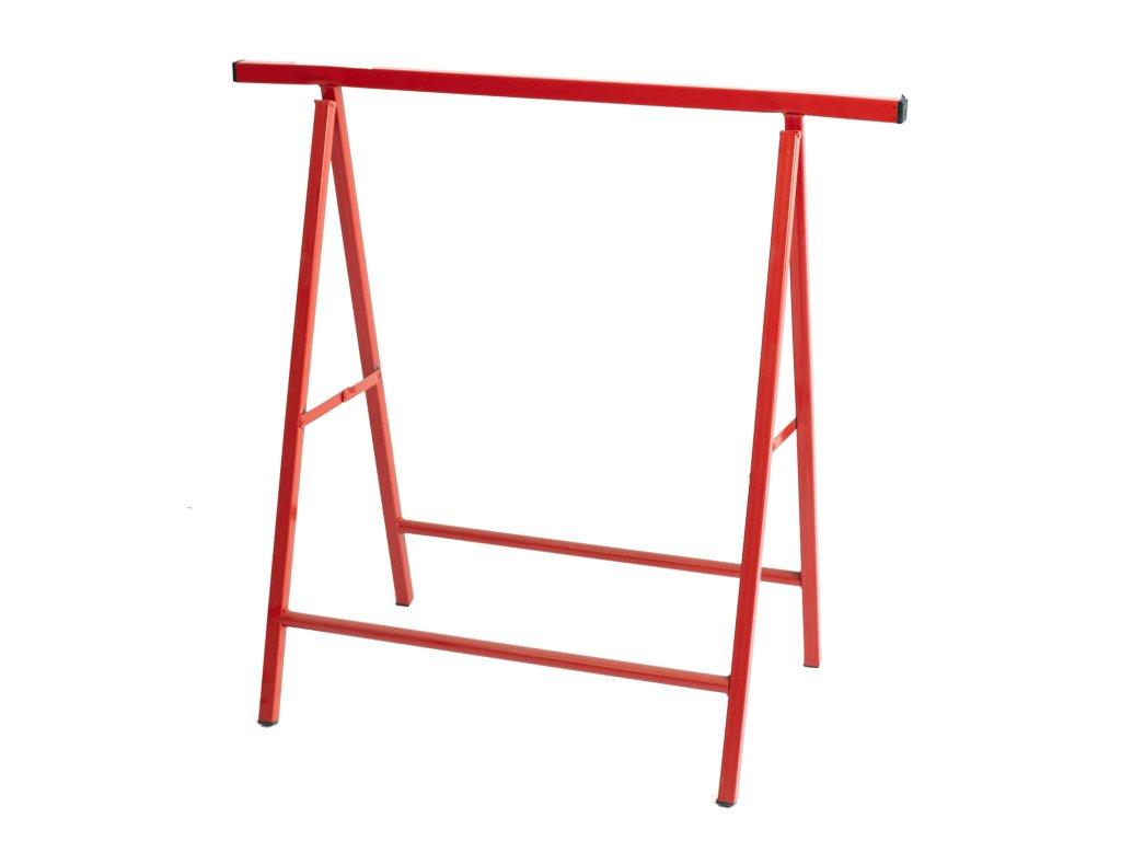 2666 1 stavebna koza pevna vyska 0 8m nosnost 200 kg cervena