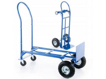 1904 1 skladovy prepravny vozik 2v1 250 kg