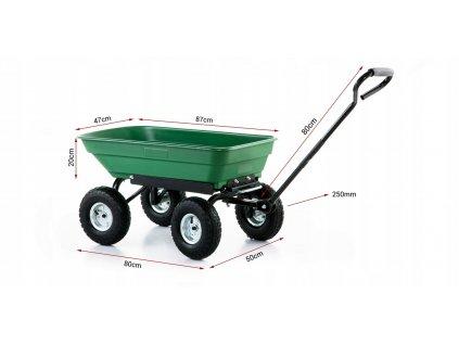 Vozík/fúrik 350 kg