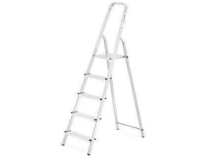 PROFI jednostranné schodíky 5 stupňov, pracovná výška 3,1m
