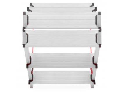 Obojstranný rebrík 5x2