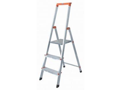 Skladací hliníkový rebrík KRAUSE 3 stupne