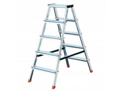 Obojstranný rebrík KRAUSE 5x2