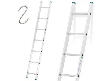 Jednodielny rebrík 1x7