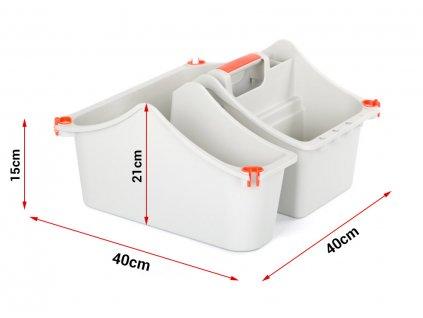 MultiBox - krabica na náradie s držiakom na schody