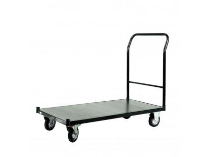 2813 1 skladovy vozik s nosnostou 500 kg s brzdou cierny