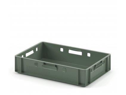 9982 prepravka na maso 60 x 40 x 12 cm zelena