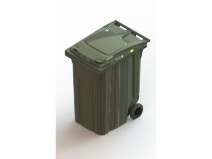 Передвижной мусорный контейнер 360л Арт.28.C29 (20.806.70.PE; 21.055.70.PE)
