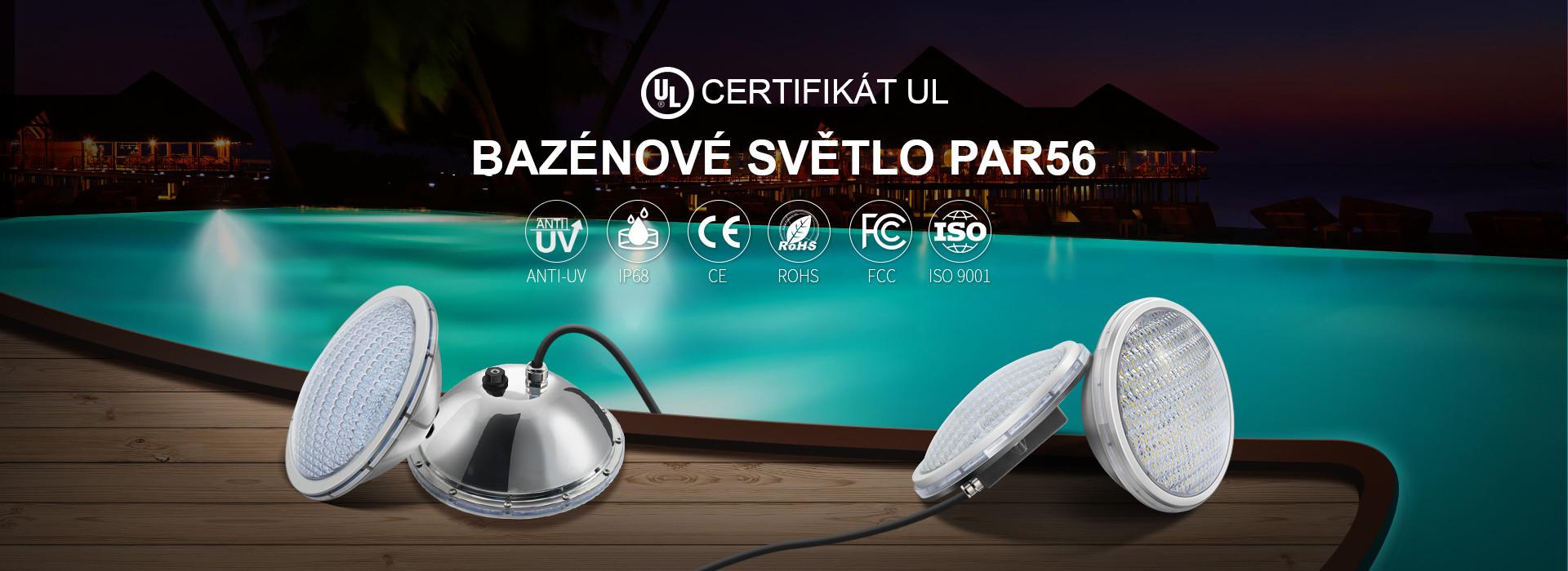 LED bazénové žárovky PAR56
