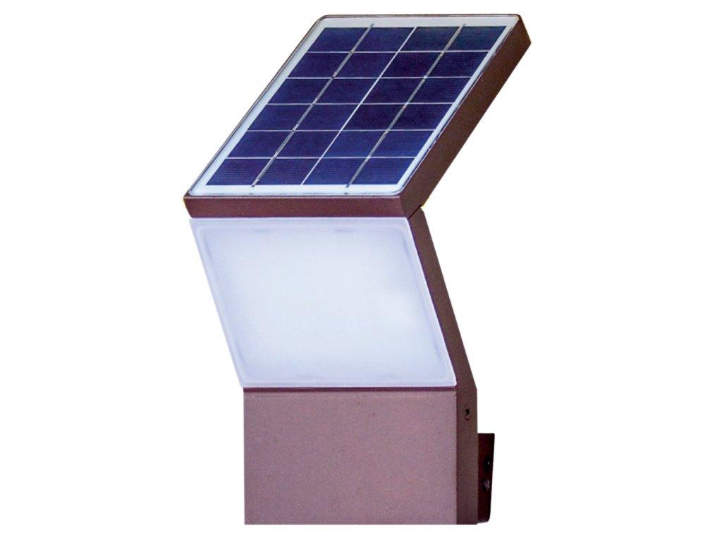 Solární venkovní osvětlení na stěnu SEAMAID