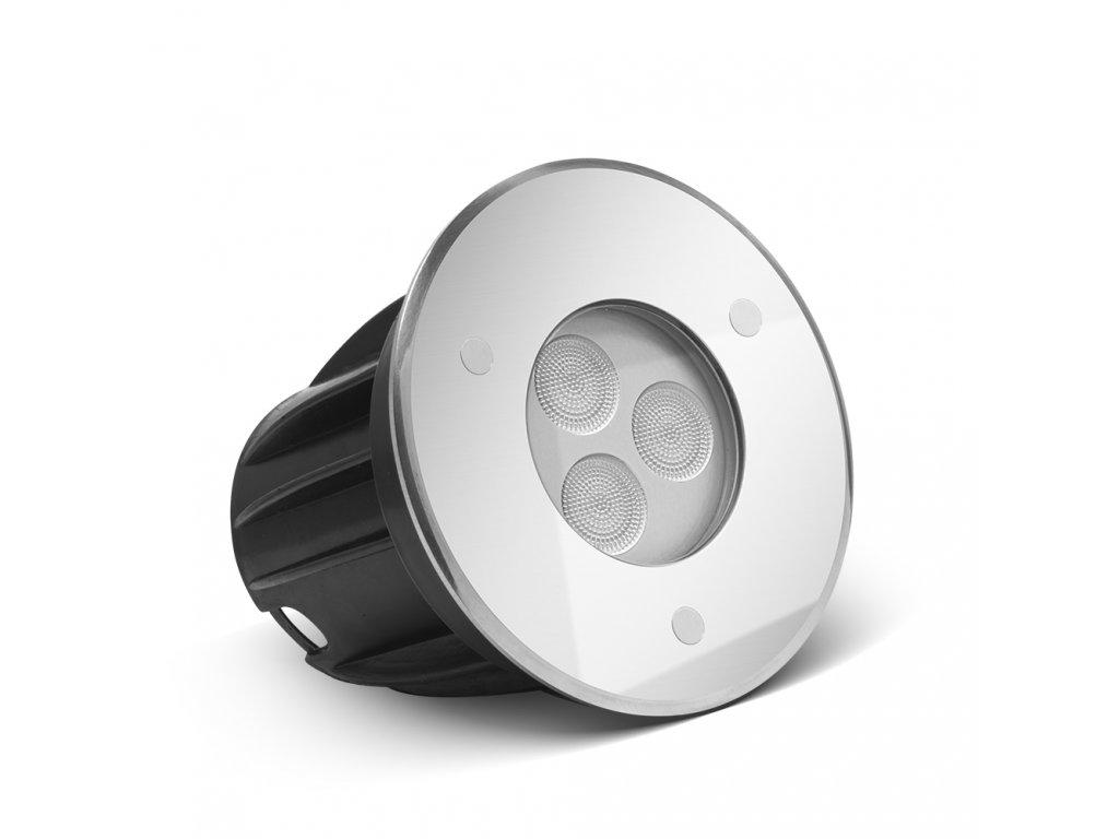 Zápustné LED světlo do vody 3W