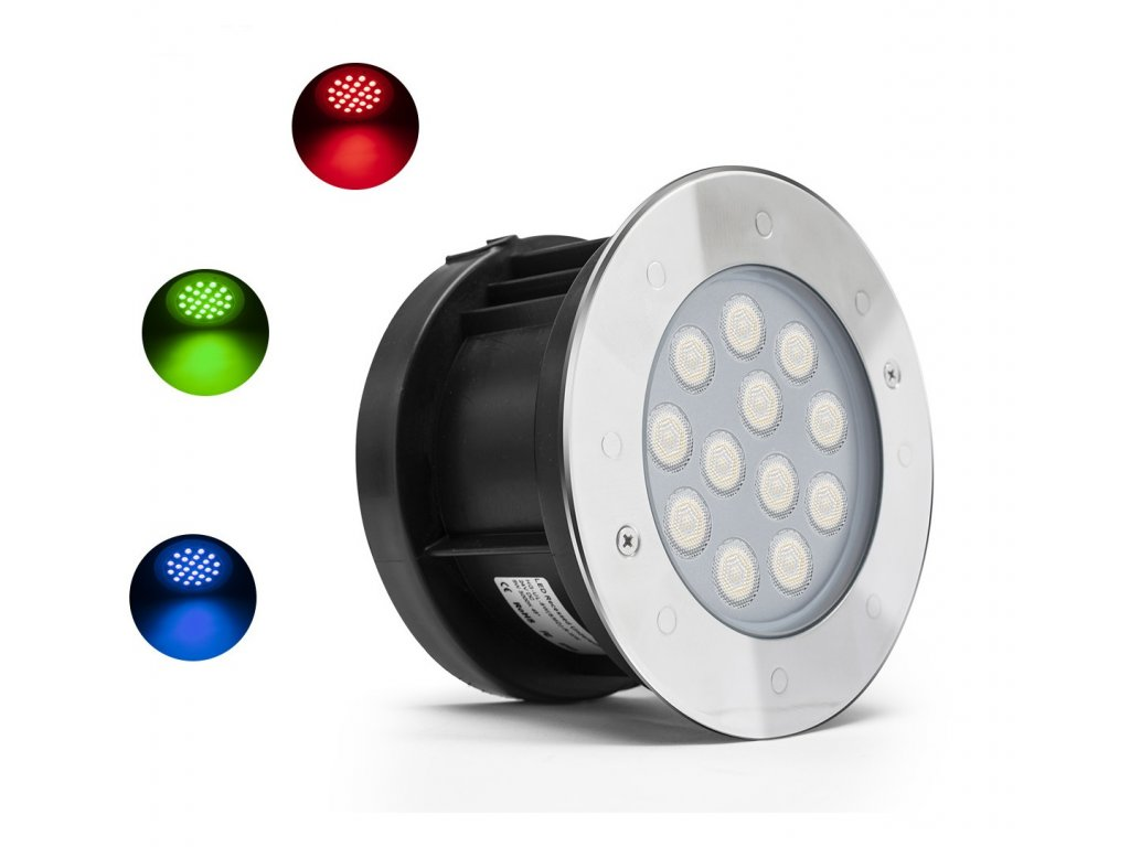 Underwater LED spotligh 12Wattt RGB