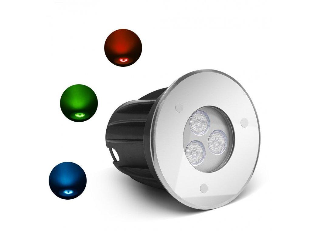 Underwater LED spotlight RGB