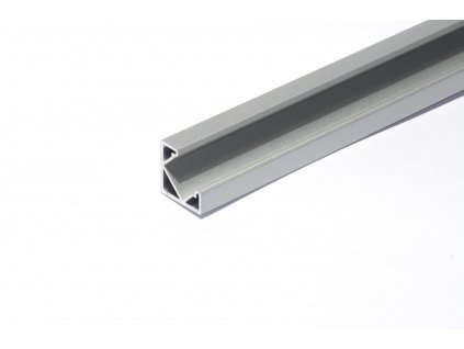 3225 1 hlinikovy profil pro led pasky ne angle2 45 rohovy uhel 45 delka 2m ks eloxovany hlinik