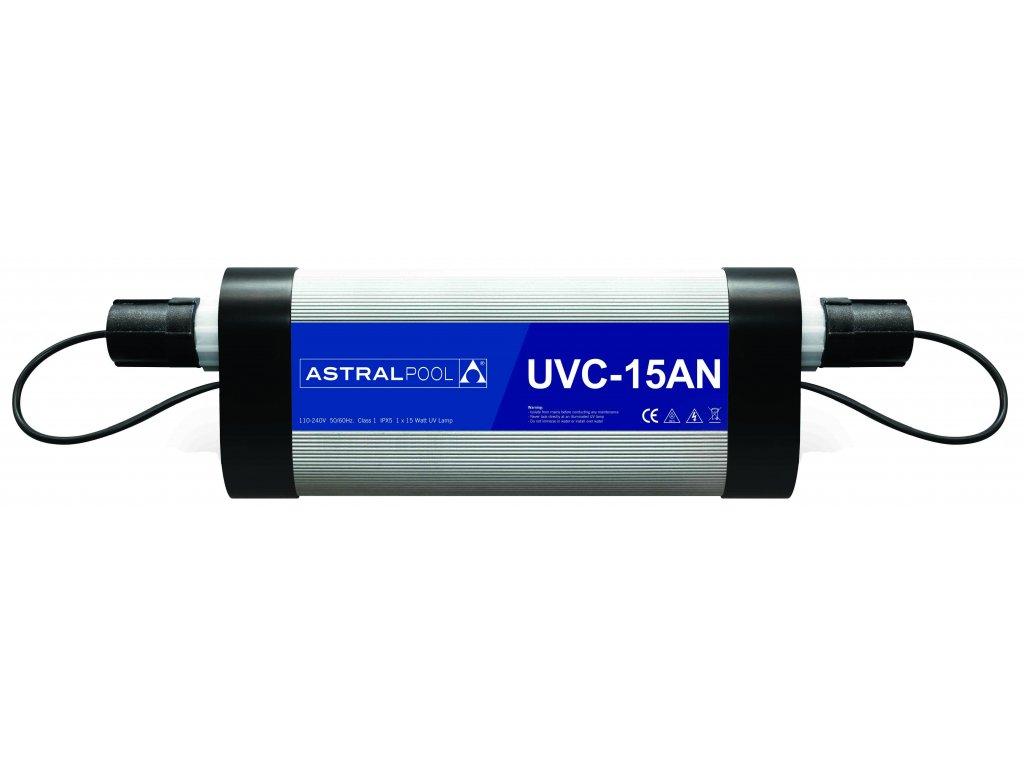 Nízkotlaká UV-C lampa pro soukromé bazény, typ 30AN