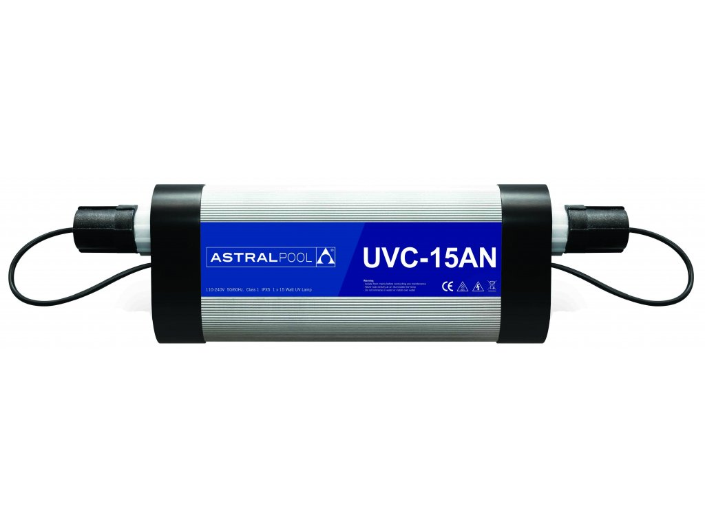 Nízkotlaká UV-C lampa pro soukromé bazény, typ 75AN