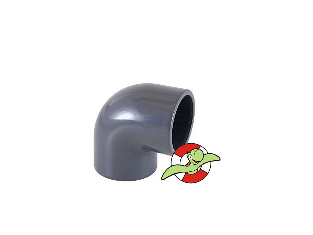 Koleno 90˚, lepení-lepení, 75mm