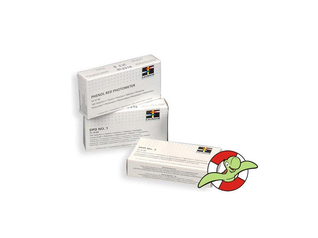 Reakční tablety pro fotometry DPD3 ( celkový chlor )