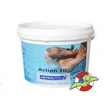 Action 10 ( chlorové pomalurozpustné 200g tablety )
