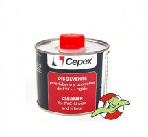 Ředidlo a odmašťovač na PVC CEPEX, 0,5l