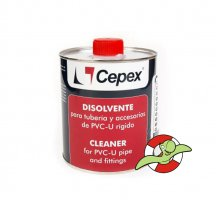 Ředidlo a odmašťovadlo PVC CEPEX, 1l
