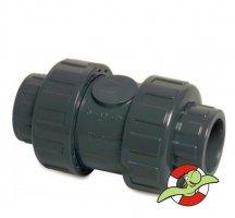 Zpětný ventil s těsněním PE-EDPM, D40