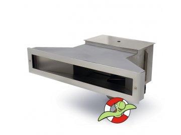 Nerezový skimmer SLIM 650