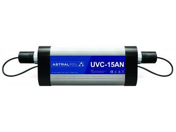 Nízkotlaká UV-C lampa pro soukromé bazény, typ 15AN