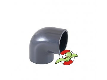 Koleno 90˚, lepení-lepení, 50mm