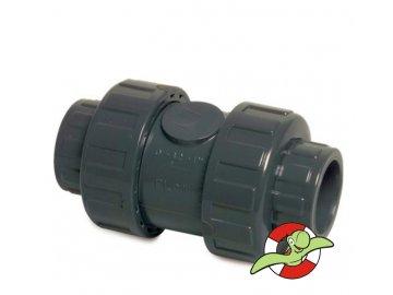 Zpětný ventil s těsněním PE-EDPM, D63