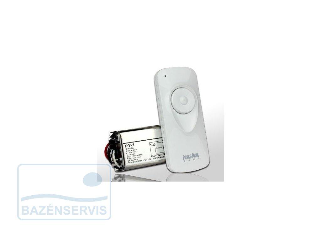 Synchronizér farby LED RGB žiaroviek s diaľkovým ovládaním