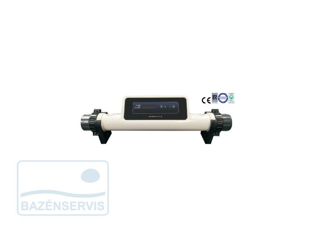 Elektrický výmenník tepla na ohrev bazénu