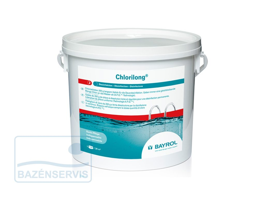 Chlorilong 5 kg - 200g tablety