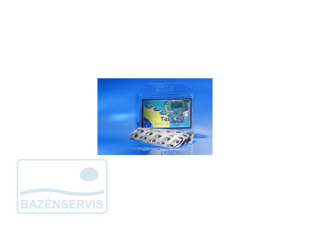 Náhradné tabletky pre tester Scuba