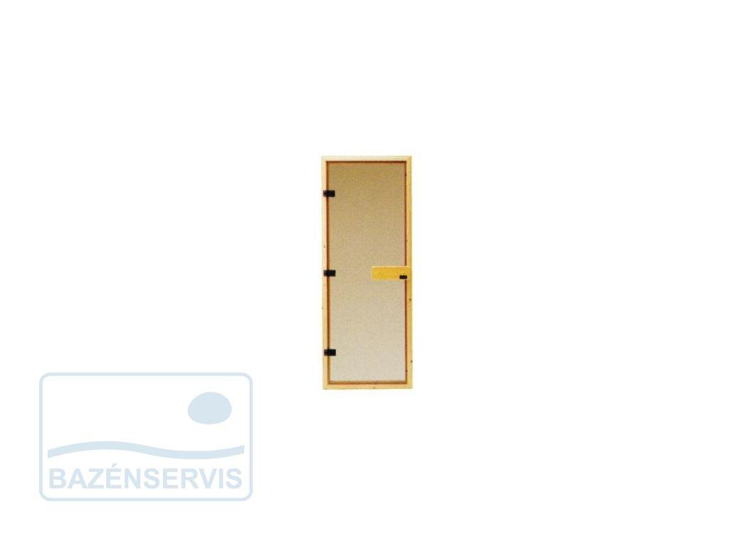 Saunové dvere - celosklenené DGM 63