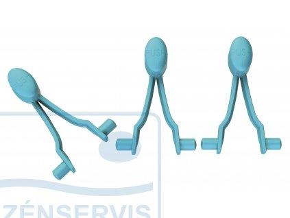 411016 Ersatzclips V Form 3St