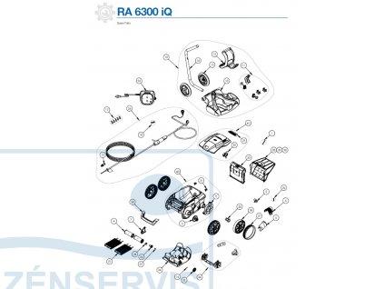 RA6300iQ,RA6500iQ,RA6700iQ - náhradné diely