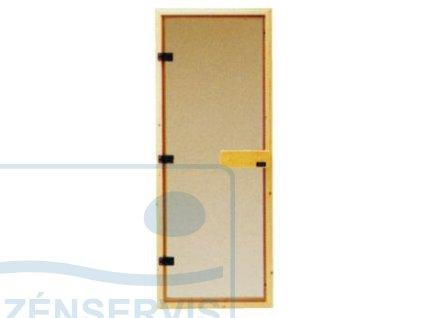 Saunové dvere - celosklenené DGM 72