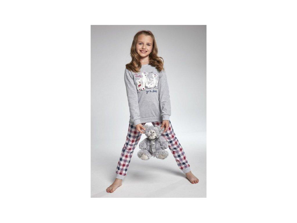 Dívčí pyžamko dlouhý rukáv Cornette 176/102