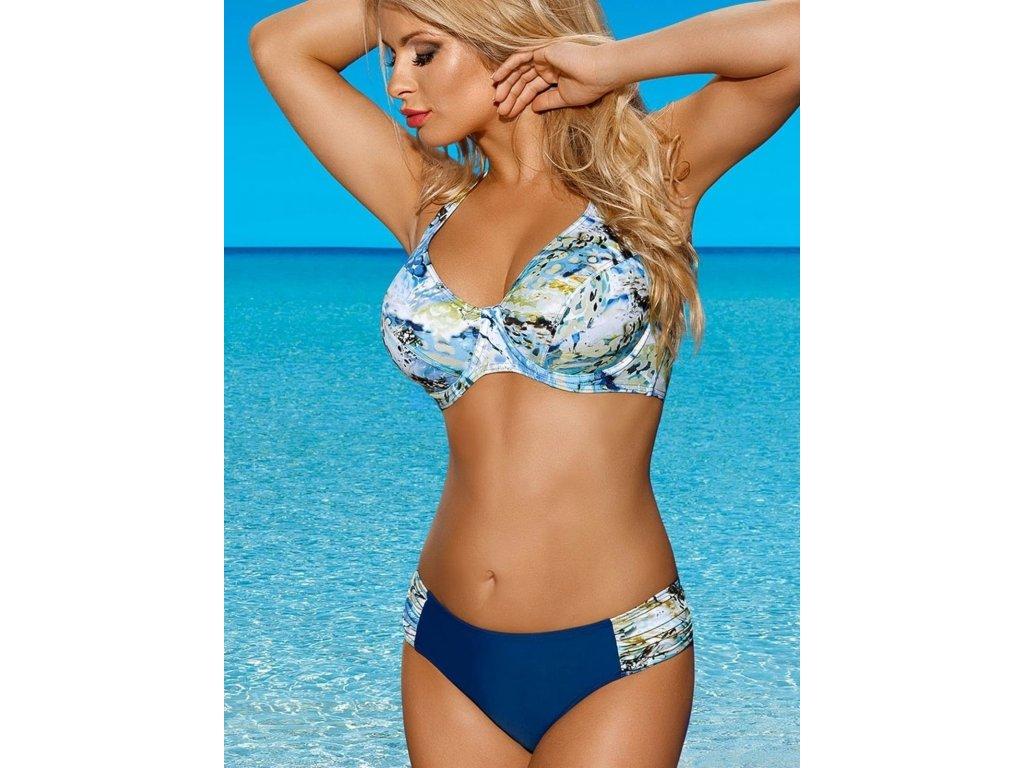 Dvoudílné plavky s kosticemi Lorin 3001/6