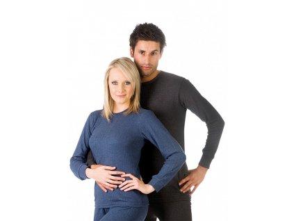 Termo triko s dlouhým rukávem unisex pro muže i ženy Evona Falun