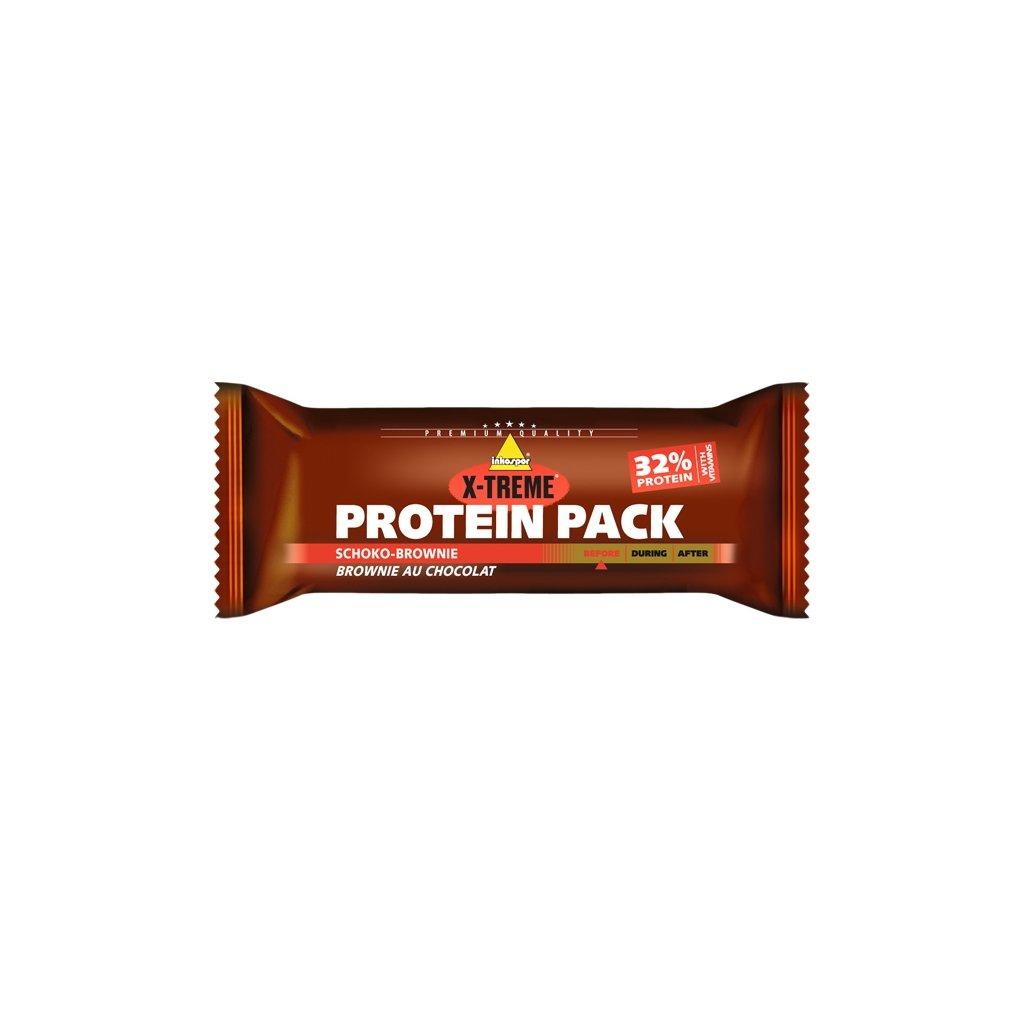 X-TREME Protein Pack čokoládové brownies 35 g