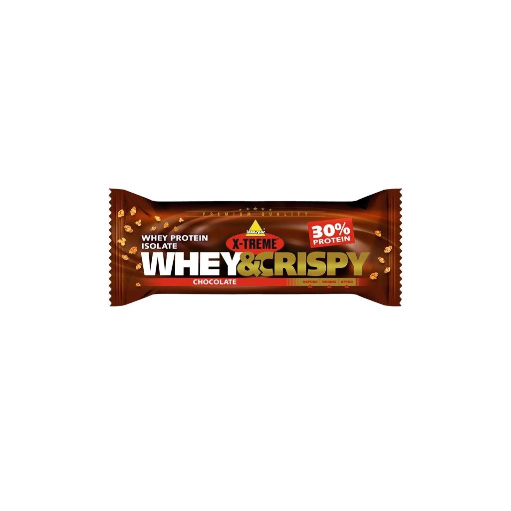 X-treme Whey crispy čokoláda 50g